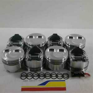 Keith Black Kb193 030 Pistons Dished Piston Set For 4 030 Chevy