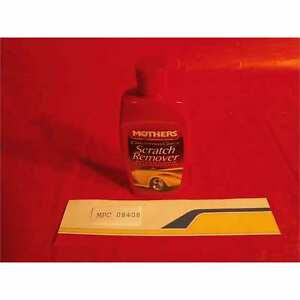 Mothers Polish 08408 6 Cal Gld Scratch Remover 8oz Qty 6
