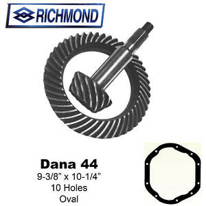 Richmond Gear Sd44r04 Ring And Pinion Dana 44 4 10r Rev Cut Sportsman