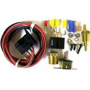 Racing Power rpc R3102 Engine Cooling Fan Thermostat Fan Relay With Thermostat