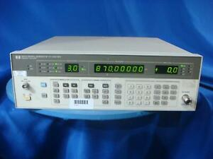 Keysight Agilent Hp 8657a 1 040 Ghz Signal Generator W opt 001 30 Day Warranty