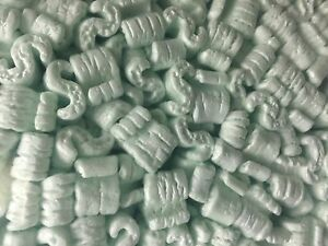 Packing Peanuts Shipping Green 40 Cubic Feet Anti Static Loose