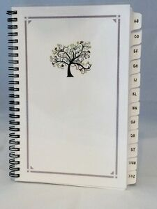 Large Print Password Book Internet Website Organizer A z Tabs Personalized Gift