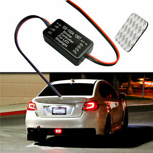 Led Brake Stop Light Strobe Flash Module Controller Box Gs 100a Fit All Cars