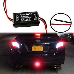 Flash Strobe Controller Flasher Module For Led 3rd Brake Stop Light Lamp