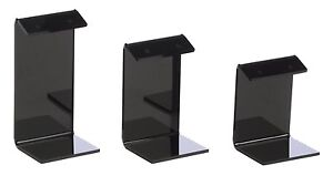 Earring Display Stand Holders Black Acrylic 18 pack