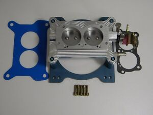 Holley Qft Aed Ccs 4412 S 4412 Xp 2 Barrel Billet Base Plate Assembly