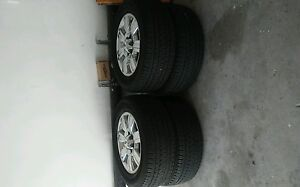 4 Like New Rims And Tires