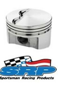 Srp Small Block Chevy 350 Flat top Pistons Set Of 8 138081 138081 8