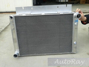 Full Aluminum Radiator For Ford Galaxie 500xl 1960 1961 1962 1963 3 Row New