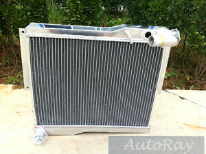 Brand New Aluminum Radiator For Mg Mgb Gt roadster 77 80 2 Row Manual 78 79 Mt