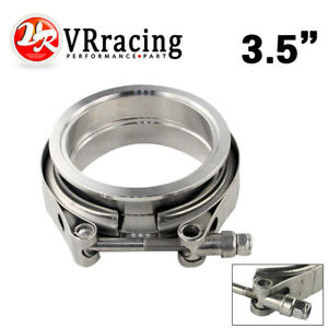 3 25 Sus 304 Steel Stainless Exhaust V Band Clamp Flange Kit V Band Vband