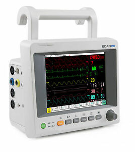 Edan M50 Multiparameter Patient Monitor Free Shipping