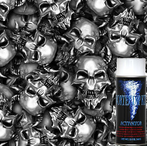 Hydrographics Film Metal Skulls Hydrographic Activator Kit Hydro Dipping