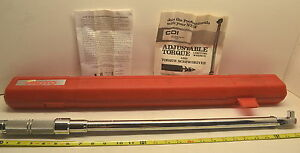 New 1 2 Proto Usa 6013c 50 250 Lbs Click Type Fixed Torque Wrench Wl 19 g 2