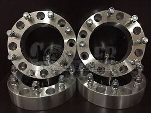 4 X Wheel Spacers 8 Lug Adapters Ford Super Duty Excursion 2 0 Thick 8x170