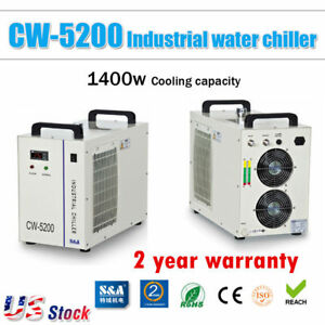 Usa S a Cw 5200dg Water Chiller For 130w 150w Co2 Laser Tube 110v 60hz