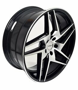 4 Gwg Wheels 20 Inch Black Razor Rims Fits 5x114 3 Ford Freestyle 2005 07
