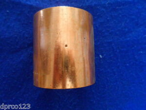 Nibco 4 C X C Wrot Copper Coupling W dimple Stop top Quality Free S h