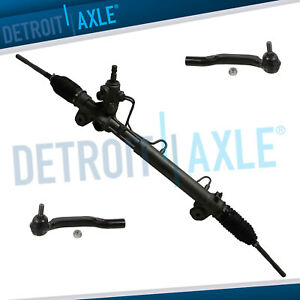 Complete Power Steering Rack And Pinion Assembly Outer Tie Rod Ends For Sienna