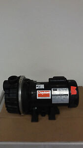 Dayton 4rj41 1hp 1ph 75kw 115 230v 3450 Rpm Centrifugal Pump C56k2se11 Motor