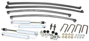 1947 55 Chevy Gmc Truck Suspension Kit Stage 1 Mono Leaf Springs And Shocks