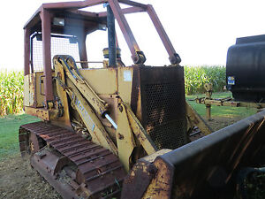 Case 1155e Crawler Loaders Track Diesel