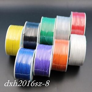9pcs nine Kinds Of Color 250m Wire wrapping Wire Cable 30awg 0 25mm