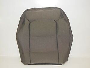 New Oem 2001 Ford Ranger Front Left Seat Back Rest Cover Gray Cloth