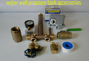 Water Well Pressure Tank Square D 40 60 Fsg2 Pressure Switch Tank with Tee Kit
