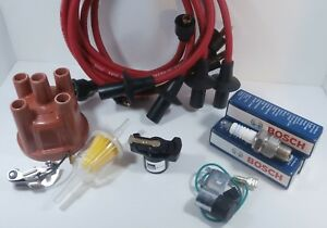 Vw Tune Up Kit 009 Bug Ghia Bus Buggy Red Bosch Beru Air Cooled Volkswagen