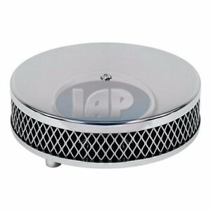 Vw Bug Ghia Buggy Bus Chrome Air Cleaner 2 Neck Ac129761 Air cooled Volkswagen