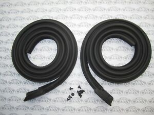 1963 1964 1965 Buick Riviera Roof Rail Weatherstrips Pair Free Shipping