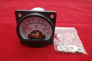 Dc 0 1v Analog Voltmeter Analogue Voltage Panel Meter So45 Directly Connect
