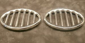Vw Horn Grill Set Of 2 113853641a T 1 1946 1967 Pair Volkswagen Bug Beetle