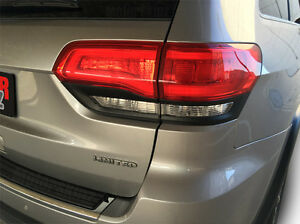 2014 2018 Jeep Grand Cherokee Tail Light Border Frame Blackout Decal Overlay Srt