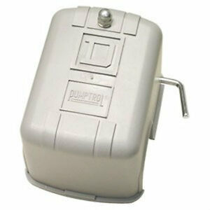 Square D 30 50 M4 Low Pressure Cut off Switch Well Pump Tank Protection 9013fsg2