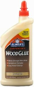 6 Elmer s E7020 16 Ounce Carpenter s Interior Wood Glue For Furniture Repair
