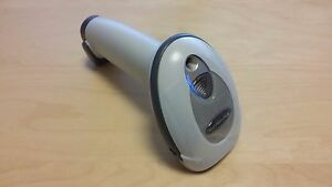 Zebra motorola Ls2208 Barcode Scanner Includes Stand And Usb Cable White new
