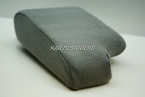 Fabric Armrest Protection For 00 06 Ford Ranger W Cup Holder Ctr Console Gray