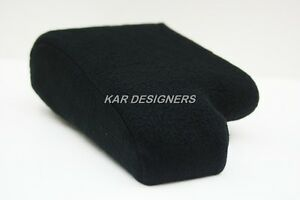 Fabric Armrest Protection For 00 06 Ford Ranger W Cup Holder Ctr Console Black
