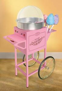 Nostalgia Electrics 50 Tall Vintage Collection Commercial Cotton Candy Cart C