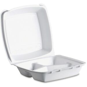 Dart Triple compartment Foam Container Food Container Foam 200