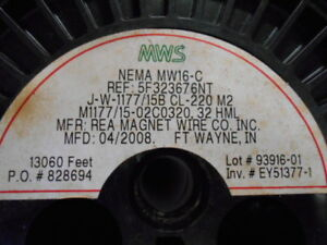Rea Magnet Wire 32hml New In Box