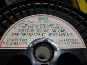 Rea Magnet Wire 36hml New In Box