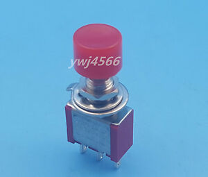 100pcs Momentary Red Push Button Toggle Switch Ps 102 Ds612 1no 1nc Good Quality