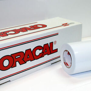 White Gloss Oracal 651 1 Roll 24 X 100 Sign Cutting Vinyl