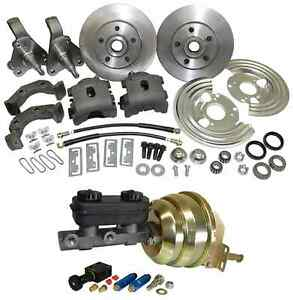 1962 74 Mopar Plymouth Dodge Power Disc Brake Conversion cbks6274