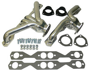 1955 56 57 Chevy Small Block Chevy Shorty Headers Ceramic Coated