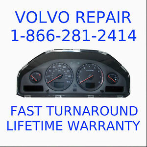volvo cluster in stock replacement auto auto parts ready to ship new and used automobile. Black Bedroom Furniture Sets. Home Design Ideas